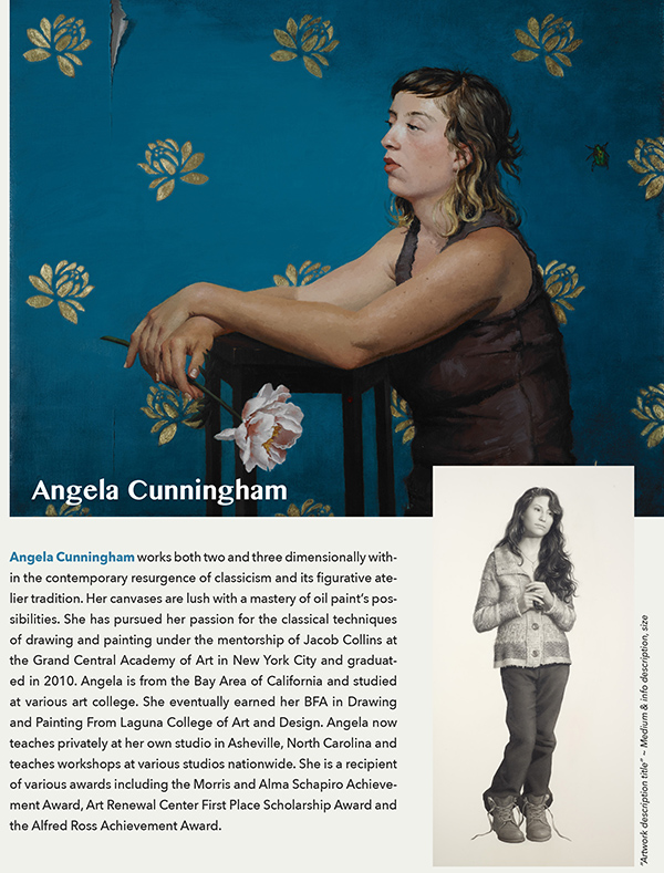Angela Cunningham at the Flood Gallery